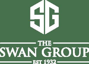 The Swan Group Logo White
